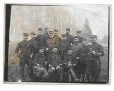 47 EME REGIMENT EN FORET - PHOTO MILITAIRE - Guerre, Militaire