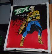 TEX WILLER Superbe Peinture Sur Toile De TEX De La Bd L'aigle De La Nuit - Livres, BD, Revues