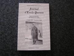 JOURNAL D' EMILE QUENON Chef De Chantier En Russie Régionalisme Guerre 14 18 Industrie Belge Boussu Industrialisation - Guerre 1914-18