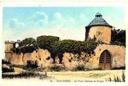 CPA N°10497 - LE GUILVINEC  - LE VIEUX CHATEAU DE KERGOZ - Guilvinec