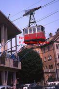 Reproduction D'une Photographie D'une Vue  Du Téléphérique Rittnerbahn Avec Passagers à Soprabolzano En Italie En 1978 - Reproductions