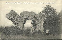 Soucieu En Jarret Les Aqueducs Romains Le Chameau Et Chateau De Champanel - France
