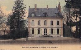 SAINT NOM LA BRETECHE(78)écrite-chateau De La Ranchère - St. Nom La Breteche