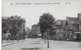 CPA De SAINT-GRATIEN - Carrefour De La Place D'Armes - Saint Gratien