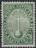 Vatican    .    Yvert   .   40    .    *     .          Mint-hinged - Vaticaanstad