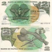 PAPUA NEW GUINEA   2 Kina  P1   (ND  1975)     UNC - Papua Nuova Guinea