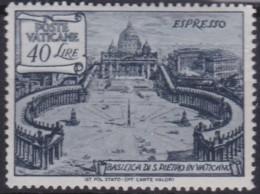 Vatican    .    Yvert   .    Express   11        .    *     .          Mint-hinged - Eilsendung (Eilpost)