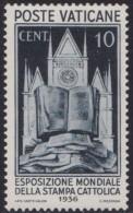 Vatican    .    Yvert   .      73        .    **     .         MNH - Vaticaanstad