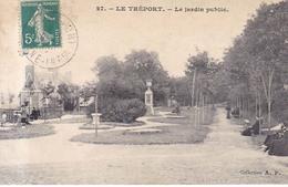 Le Treport Le Jardin Public 1910 - Le Treport