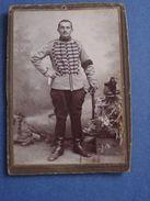 ARMÉE Jura -Cliché D'un Cavalier Du 14° RÉGIMENT De CHASSEURS à CHEVAL-en Garnison à DÖLE (1895 >1914) - Fotos