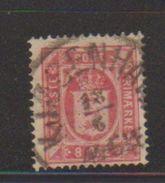 Danemark / Service / N 8b / 8 Ore Rouge / Oblitéré - Dienstzegels