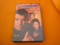 James Bond 007 Tomorrow Never Dies Old Greek Vhs Cassette From Greece - Children & Family