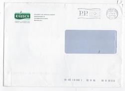 BUSTONE INTESTATO FARMACEUTICI RAUSH AFFRANCATURA P.P. A TARGHETTA 11.03.2009 - Svizzera