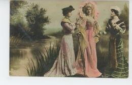 FEMMES - FRAU - LADY - SPECTACLE - ARTISTES - Jolie Carte Fantaisie Portrait Artistes Dont CAVALIERI - Femmes