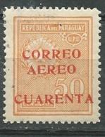 Paraguay - Aérien    - Yvert N° 37 * Aab14841 - Paraguay