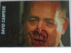 Carte Postale - David CAMPESE - Dédicace - Hand Signed - Autographe Authentique  - - Rugby