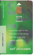 UK -  Beta Trial(TRL020Aa, 5 Pounds), CN : 31/3/00073, Chip GPT1, Tirage %11000, Exp.date 09/96, Used - BT Test & Essais