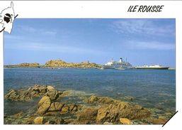 CPM - HAUTE CORSE - L'ILE ROUSSE - FERRY - France