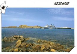 CPM - HAUTE CORSE - L'ILE ROUSSE - FERRY - Francia