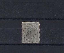 N°17 (ntz) GESTEMPELD L318 Ruysbroeck COB € 3,00 + COBA € 6,00 - 1865-1866 Linksprofil