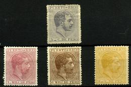 1289- Puerto Rico Nº 65c, 56, 59 Y 63. - Sellos