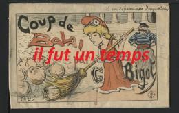 G. BIGOT - COUP DE BALAI POUR G. BIGOT - POCHETTE - Ilustradores & Fotógrafos