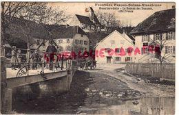 SUISSE -JURA- BEURNEVESIN - LE BUREAU DES DOUANES COTE FRANCE - 1912 - JU Jura