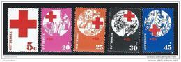 Nederland  ....  NVPH  ....     1015/1019     ....   **  ....  Postfris .... MNH ....  Postfrisch .... Neuf ** - Periode 1949-1980 (Juliana)
