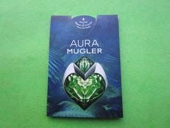 MUGLER THIERRY  -  AURA - Carte Parfumée PUFFER - Cartes Parfumées