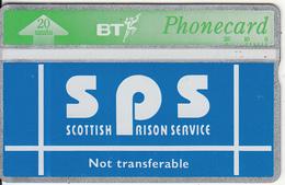 UK(SCOTLAND) - Scottish Prison Service(CUP003), CN : 343A, Used - Ver. Königreich