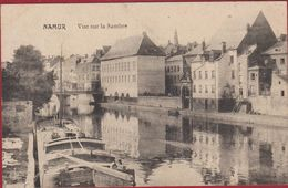 Namen Namur Vue Sur La Sambre Peniche Boot Barge Binnenschip (In Zeer Goede Staat) Chocolat Martougin - Namur