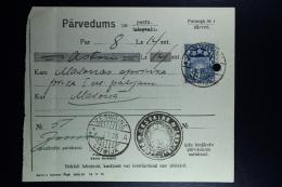 Latvia:  Money Order 1926 Sesswegen Madona - Lettland