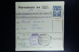 Latvia: Money Order 1928 Riga  Dikli - Lettland