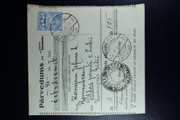 Latvia:  Money Order 1930 Oger Ludze Pilda - Lettland