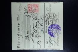 Latvia:  Money Order 1933 Riga Sabile Vane - Lettland