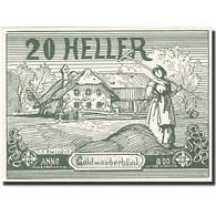 Autriche, Goldwörth, 20 Heller, Paysan, 1920, 1920-12-31, SPL+ - Autriche