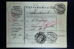 Latvia:  Money Order 1933 Doblen Tukums - Lettland