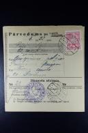 Latvia:  Money Order 1931 Drostenhof Dzerbene - Latvia
