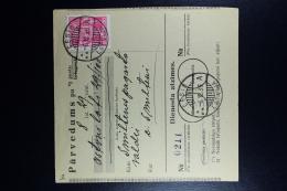 Latvia:  Money Order 1935 Wenden Smiltene - Lettland