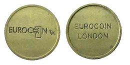 00038 GETTONE TOKEN JETON FICHA MACHINE EUROCOIN LONDON - Zonder Classificatie