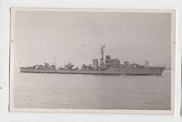 Warship D48 Plain Back RP Photo Card 359a - Guerre