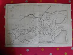 Carte Du Vicariat Apostolique De La Mongolie. 1875. Chine Pékin (péking) Grande Muraille Mandchourie. Rare - Geographical Maps