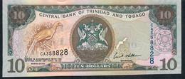 Trinidad & Tobago P48 10 Dollars 2006.  #CA    UNC. - Trinidad & Tobago