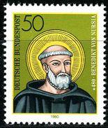 BRD - Michel 1055 - ** Postfrisch (D) - 50Pf  Hl. Benedikt Von Nursia - [7] West-Duitsland