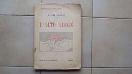 VECCHIO LIBRO ETTORE TOLOMEI L'ALTO ADIGE EDIZIONE L'ORA DI TORINO - Livres, BD, Revues
