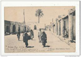 TOZEUR TUNISIE UNE RUE ARABE CPA BON ETAT - Túnez