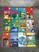 12 Cartoguides,cartes Routières Petrolieres Vintage SHELL - Cartes Routières