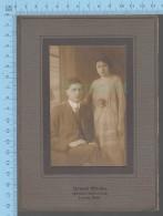 Photo Cabinet,  - Couple , Photographe: Grand Studio, Opposite Post Office, Lowell Mass USA - Photos