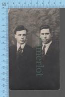 Carte Postale Photo - Emile & René Lizée  , Photographe: Prime Dugas, Taftville Conn. USA - Photographie