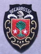ECUSSON TISSU VILLE BLASON BRODE DE BISCAROSSE - Ecussons Tissu